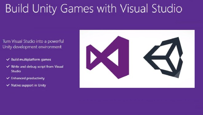 Image result for visual studio tools for unity