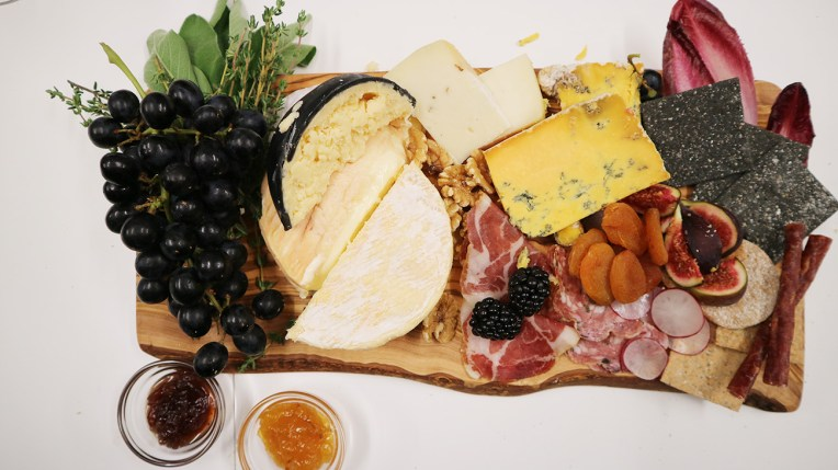 Our Christmas Cheeseboard