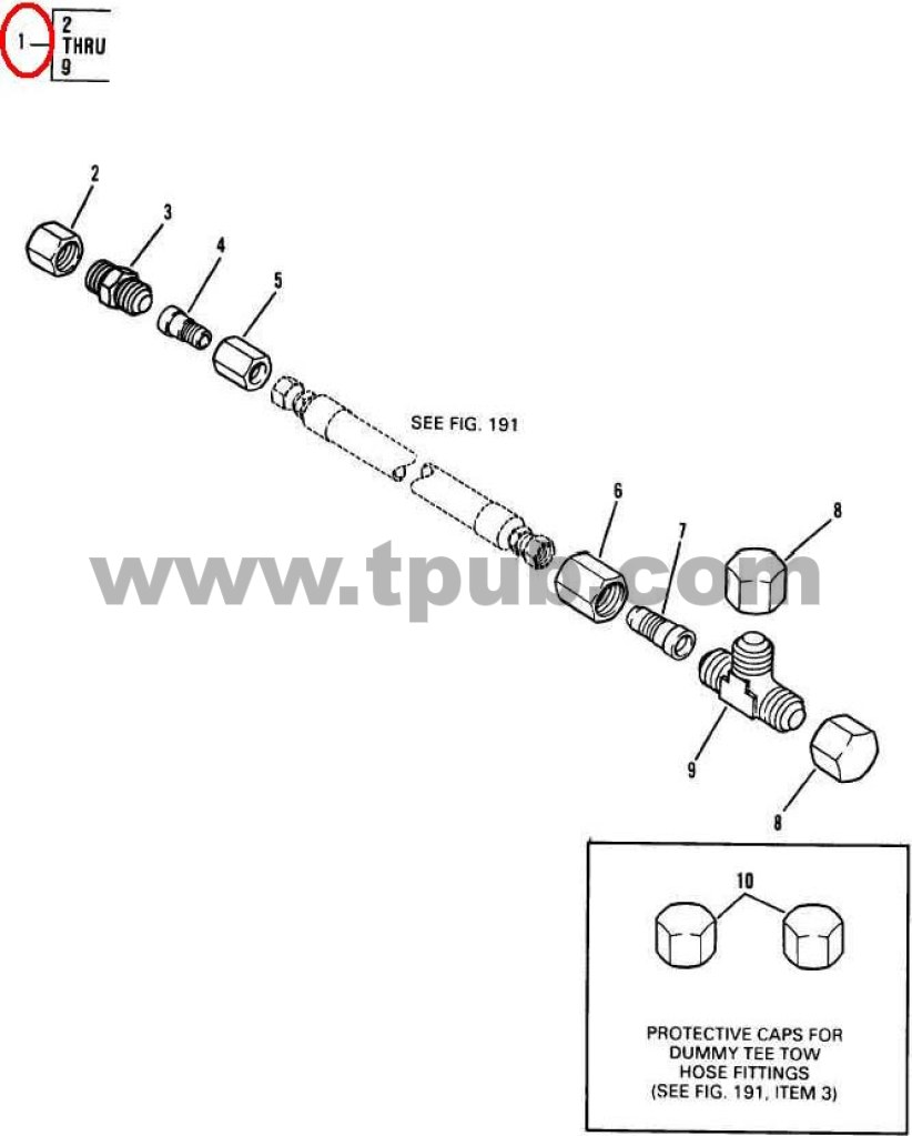 3950-01-291-8932 Parts Kit, Boom Lift