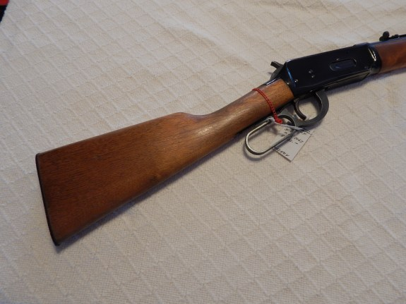 Cleaning a Winchester Rifle