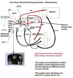 wiring diagram supplied for winches with or without wireless control [ 768 x 1024 Pixel ]