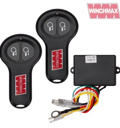 wireless winch remote control twin handset winchmax brand 12v 12 volt [ 1600 x 1600 Pixel ]