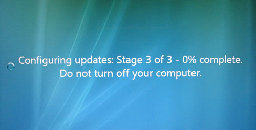 Windows Vista SP1 Upgrade issues (2/6)