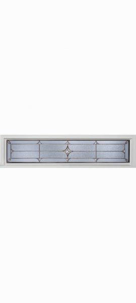 Rectangle Transom with Astrid glass