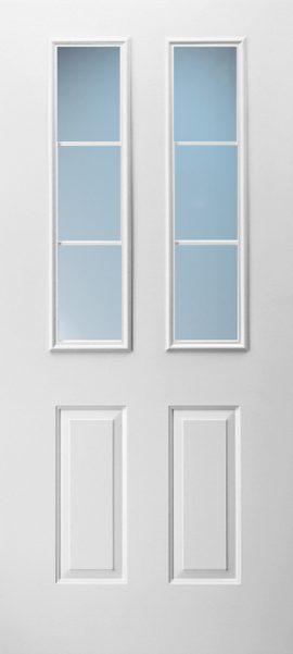 2 Panel Twin 3/4 Lite 3L Colonial