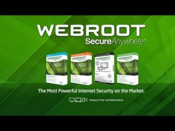 Webroot SecureAnywhere Antivirus 2018 Crack License Keys