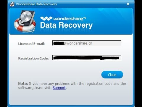 Wondershare Data Recovery 6 6 1 0 Crack With Registration