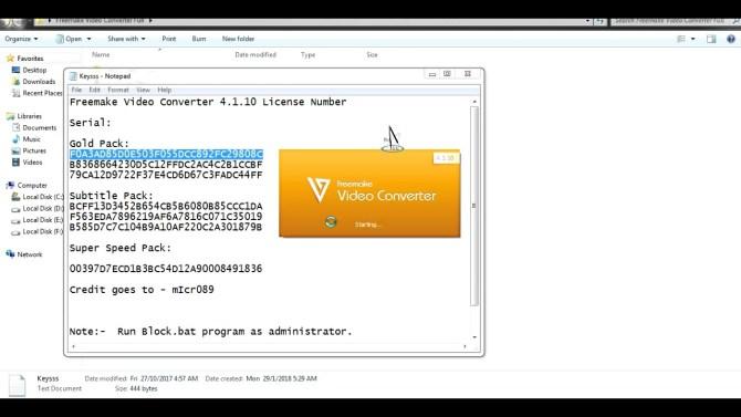 freemake video converter key Free Activation For Windows