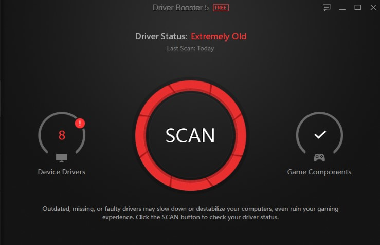 Driver Booster 5 key Pro License Key + Crack 100% Working