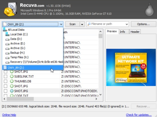 Recuva Pro Crack + Serial Keys + Activation Code Full {Win +
