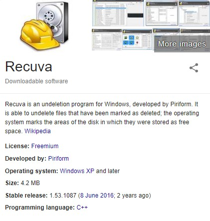 Recuva Pro Crack + Serial Keys + Activation Code Full {Win + MAC}