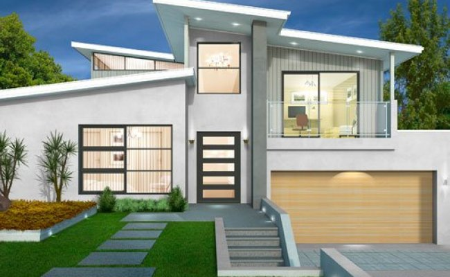 Sloping Block House Designs Wincrest Bespoke