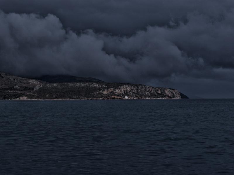 Regenwetter: bedrohliche Wolkenfronten