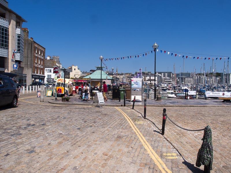 Plymouth Barbican: Hier ist ordentlich was los und der Stadteil ist definitiv ein Besuch wert