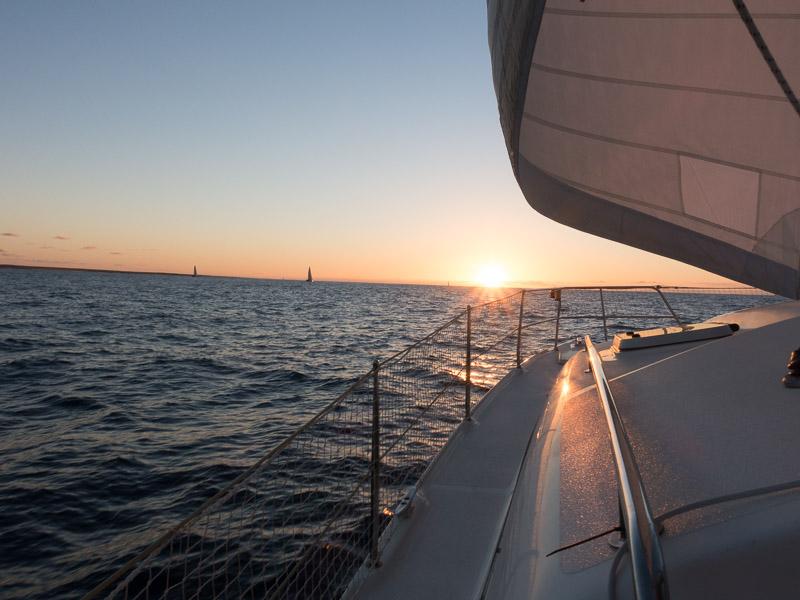 Von Fuerteventura nach Gran Canaria: dem Sonnenuntergang entgegen