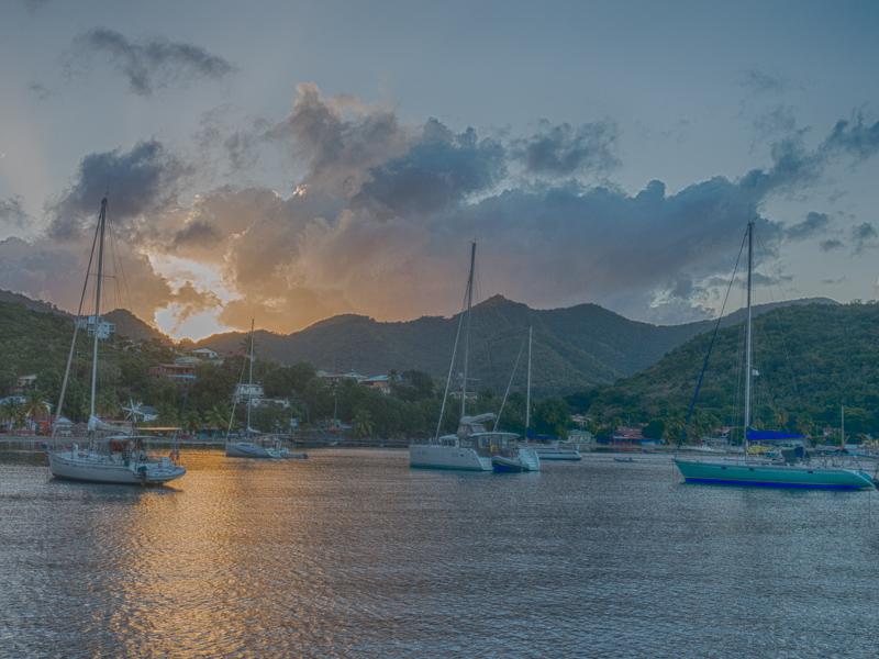 Grand Anse d'Arlets: Sonnenaufgang