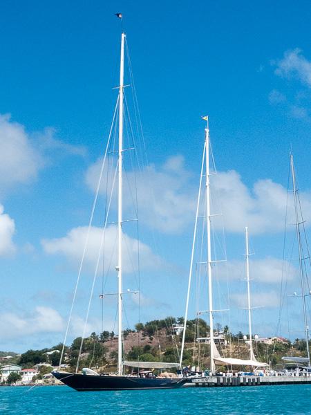Antigua: wunderschöne Boote