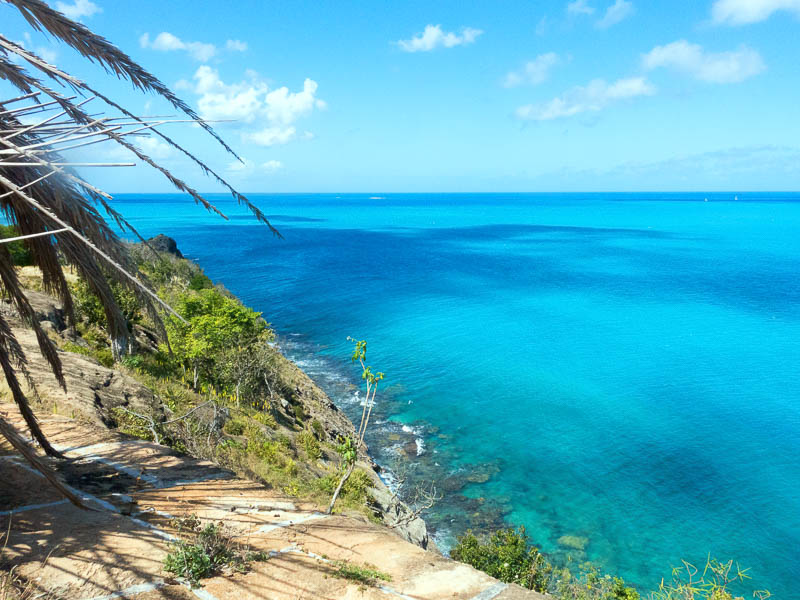 Antigua Deep Bay: die Farben des Meeres