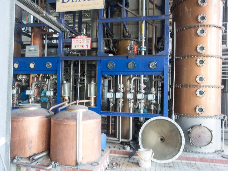 Die Destille: Herzstück der Brennerei