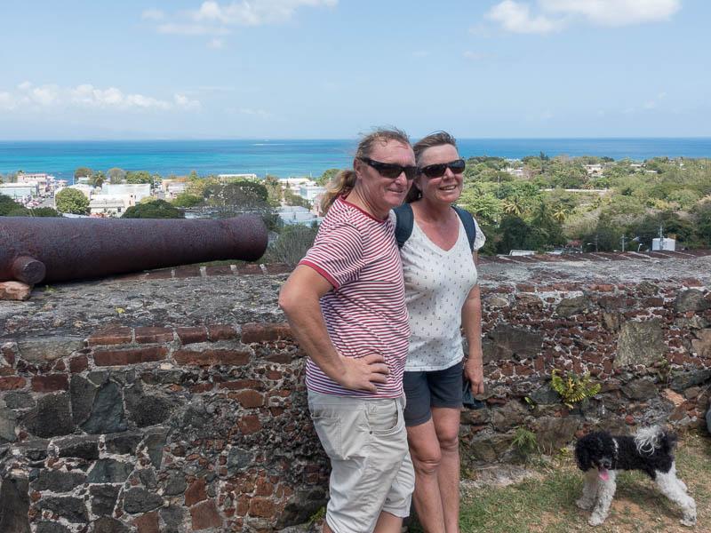 Vieques Inselrundfahrt Blick auf Isabel Secundo und das Meer