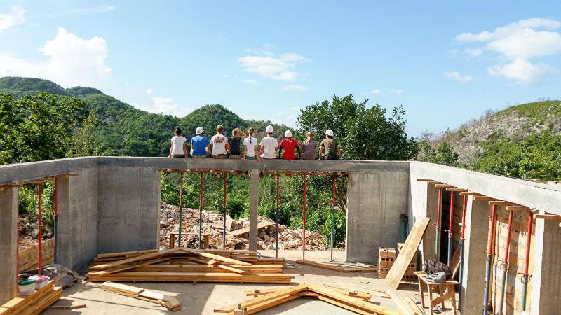 Haiti: Errichtung der Aula