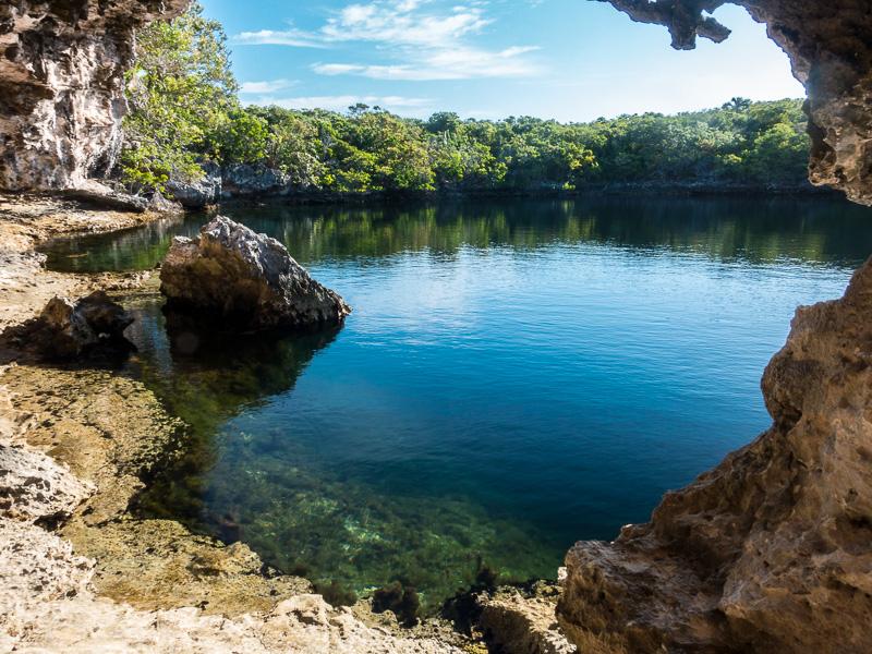 Hoffman Cay Blue Hole