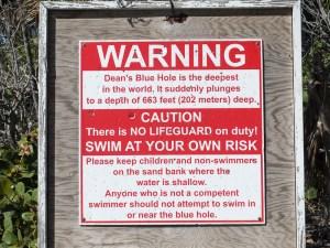 Long Island: Seglerparty am Strand und Dean's Blue Hole