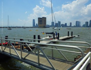 A beautiful summer day at Pier 40