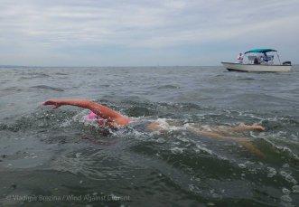 Miles of open water