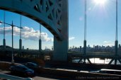 Manhattan skyline on the other side