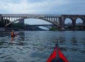 The trio of mid-Harlem bridges