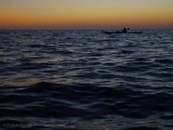 ... in the calm twilight