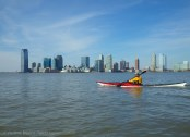 Jersey City across the river