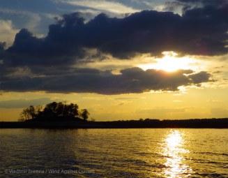 Golden sunset indeed