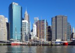 We pass the South Street Seaport