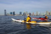 We paddle down the Hudson
