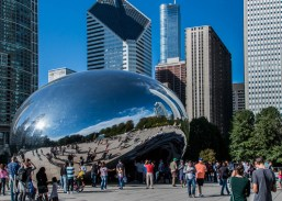 """Cloudgate ... """"The Giant Bean"""""""