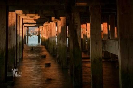 Under the boardwalk, Astoria
