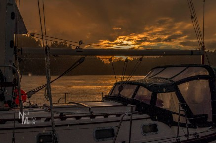 Sunset at Sturt Bay