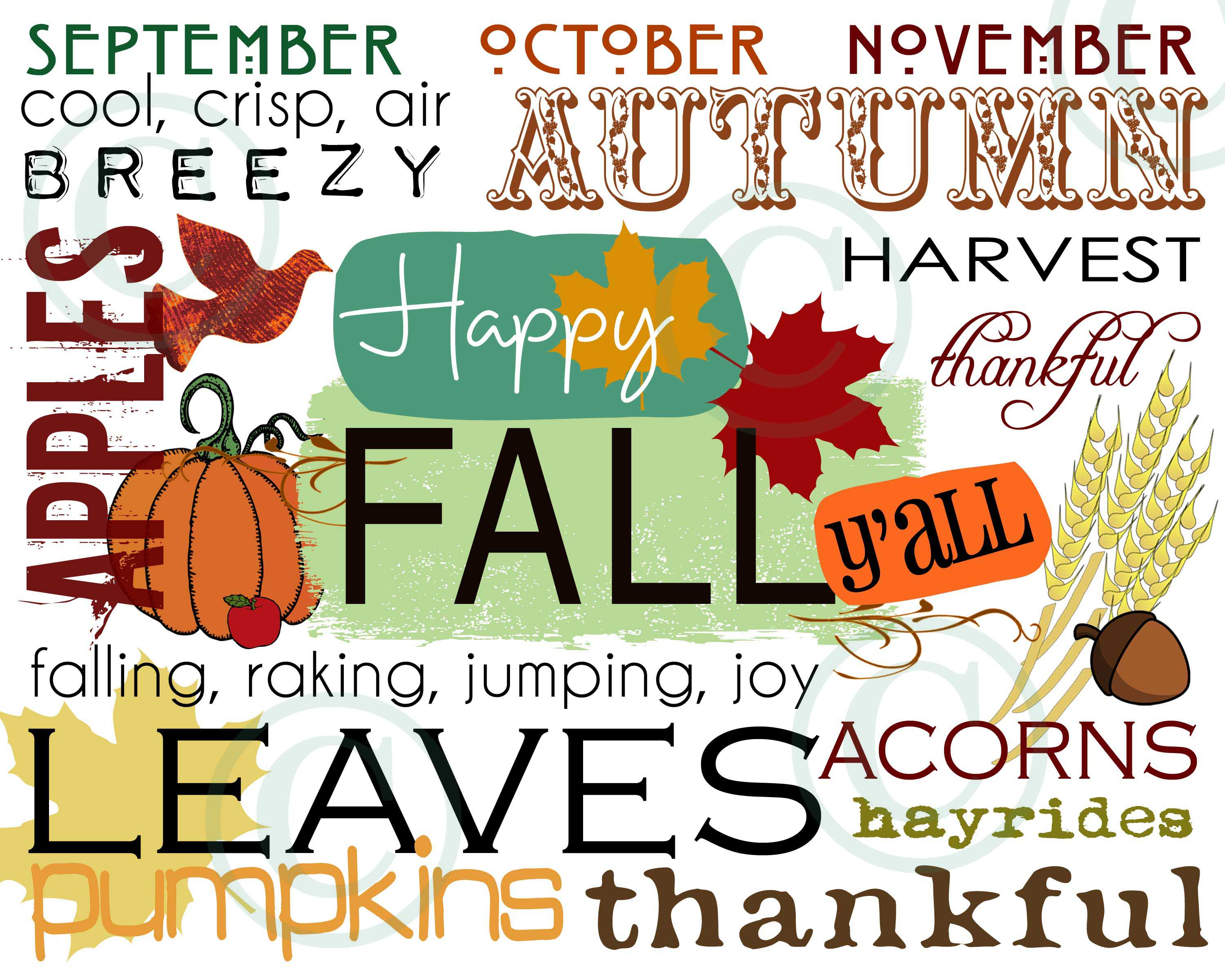 Its Fall Yall Wallpaper Autumn Leaves Happy Fall Windchimes And Dreamcatchers