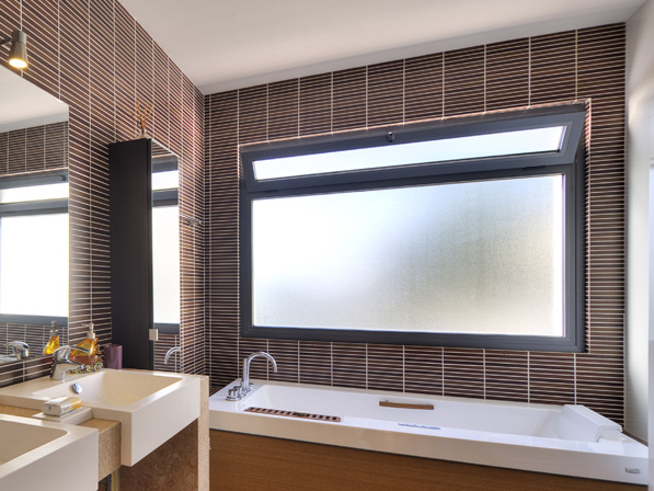 windeco residential frosted privacy window film