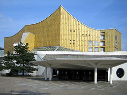 Berlin Philharmonic Concert Hall (credit: wikipedia)