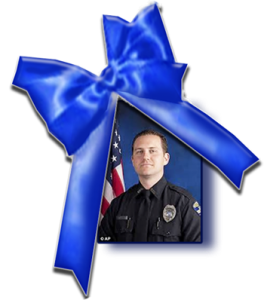 Memorial Day Celebration-Officer German blue ribbon (credit: Windermere Rotary)