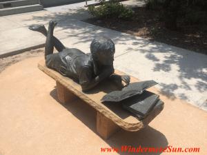 Windermere (aka Franklin W. Chase Memorial) Public Library reader side (credit: Windermere Sun-Susan Sun Nunamaker)