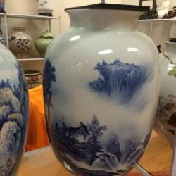Chinese Fine Ceramics Shop near First Oriental Supermarket in Orlando, FL- vase (Attrib: Windermere Sun-Susan Sun Nunamaker)