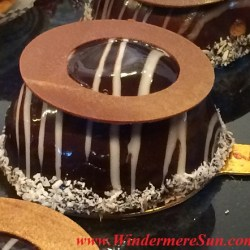 My French Cafe pastries-chocolate pastry (credit: Windermere Sun-Susan Sun Nunamaker)