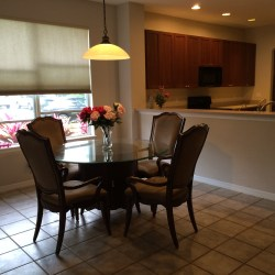 Open concept kitchen to eat-in-area is very spacious! (photo credit: Windermere Sun-Susan Sun Nunamaker)