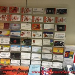 YESS-Business section, with Business cards on display, YESS Center, at 3201 E. Colonial Dr.,Suite M-25, 407-270-7073 (credit: Windermere Sun-Susan Sun Nunamaker)