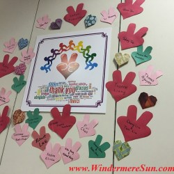 YESS-Wall of Gratitude, YESS Center, at 3201 E. Colonial Dr.,Suite M-25, 407-270-7073 (credit: Windermere Sun-Susan Sun Nunamaker)