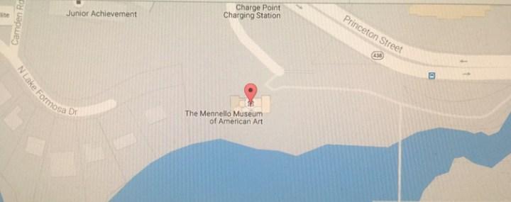 Map of Artlando location (Orlando Loch Haven Park, 900 E. Princeton St., Orlando, FL 32803)